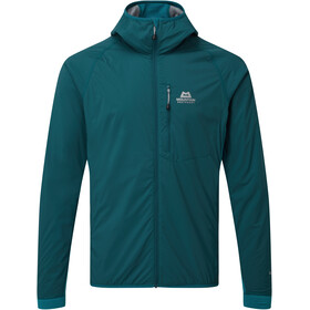Mountain Equipment Switch Chaqueta Capucha Hombre, legion blue/tasman